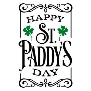 happy st paddy's day