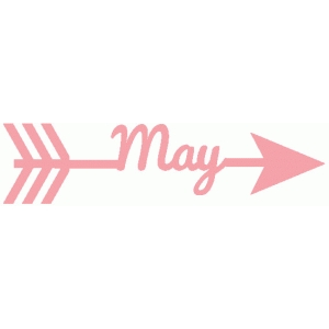 may word arrow