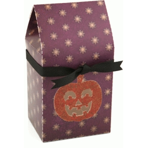 3d jack-o-lantern window box