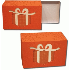 3d two way present box