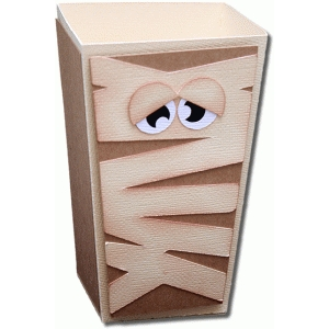 3d mummy popcorn box