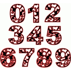 damask numbers