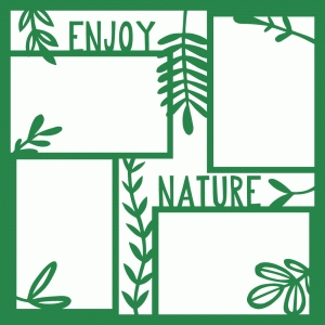 nature photo frames page 12x12