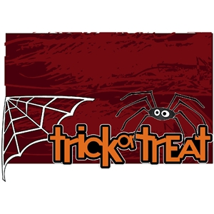halloween treat bag spider