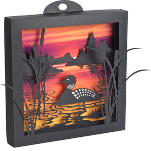 loon lake 3d shadow box