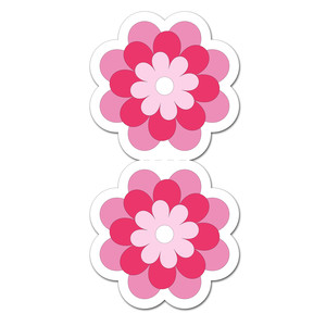 flower magnetic bookmark