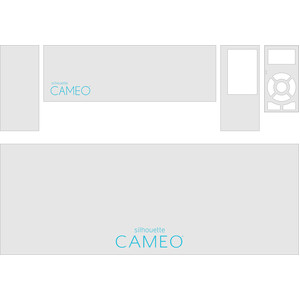 silhouette CAMEO® cover template - all machines