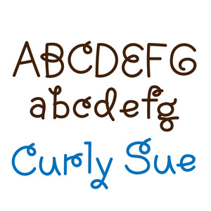 curly sue font