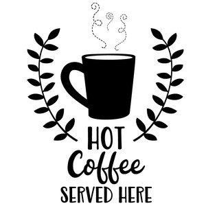 hot coffee served here