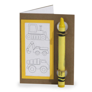 color and sketch book - diggers