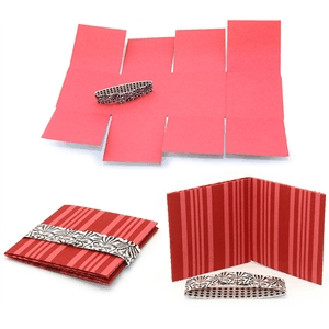 accordion flap book simple