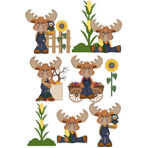 marty moose fall stickers