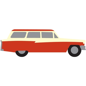 retro station wagon