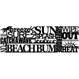 phrase: beach bum