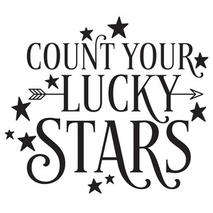 count your lucky stars quote