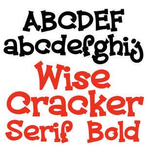pn wise cracker serif bold