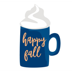happy fall mug