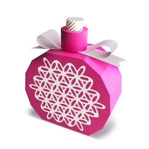 perfume bottle gift box