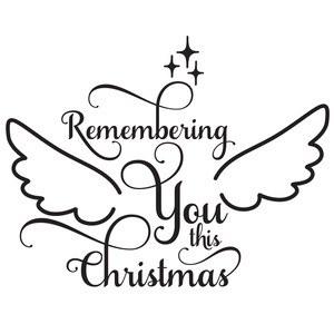 remembering you this christmas quote