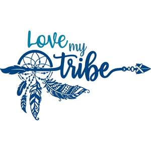 love my tribe dreamcatcher arrow