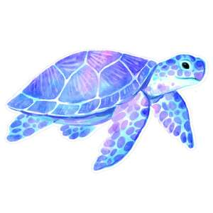 seaturtle watercolor printable