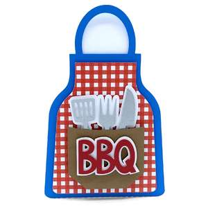 barbecue apron card