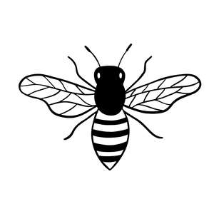 cute bumble bee clip art