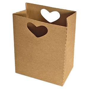 love sack with heart handles