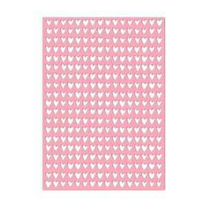 a4 cut out hearts background