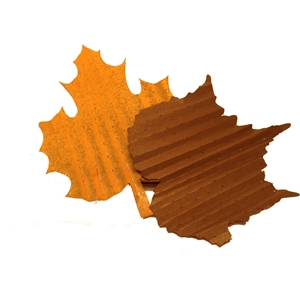 accordion folded leaves 1