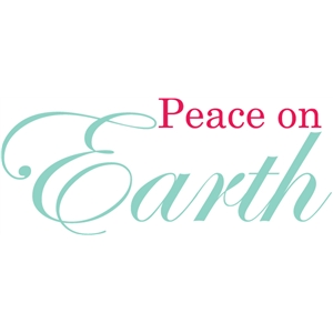 peace on earth sentiment / page title