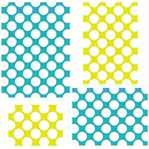 polka dots background - 5x7