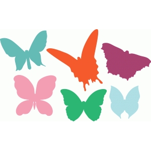 butterflies set