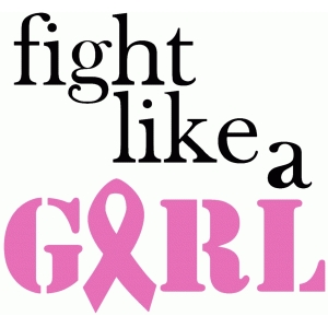 'fight like a girl' phrase