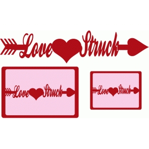 love struck cards & title