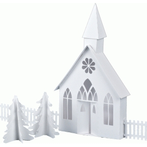 3d ledge village country chapel