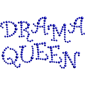 drama queen bling