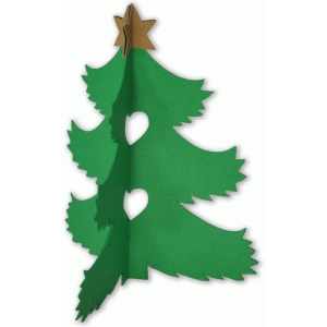 christmas tree 3d ornament
