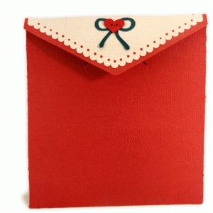 sweetest heart box card envelope