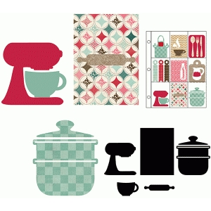 pen pal letters—bake set