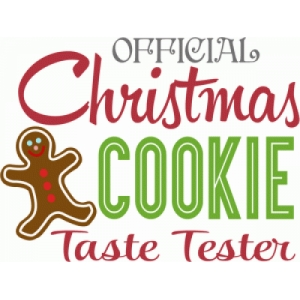 official cookie taste tester