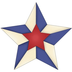 patriotic star three