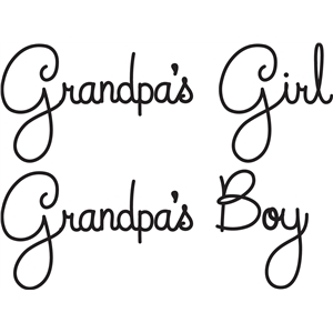 grandpa's girl/boy