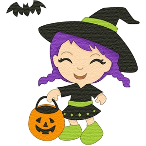 costume kids witch