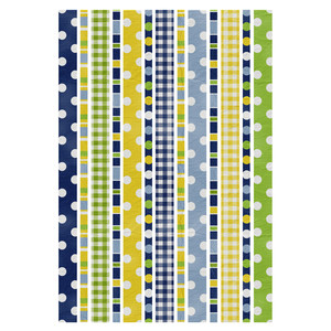 denim & daisies washi tape border stickers