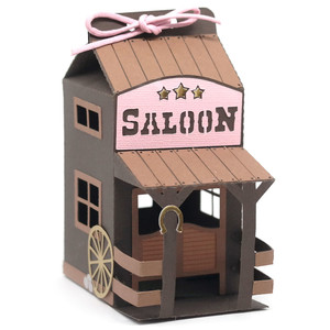 saloon milk box