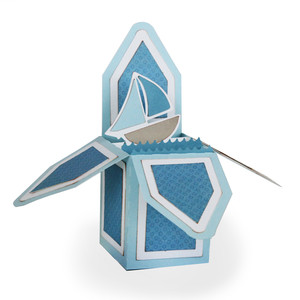 sailboat 3d card