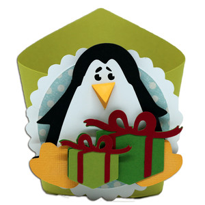 penguin wrap box
