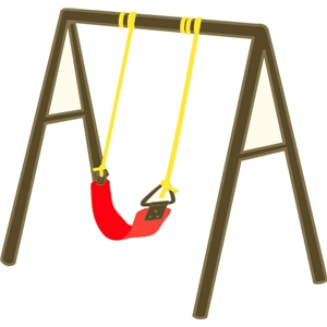 echo park playground swing set