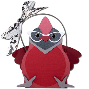 ms. cardinal glasses basket